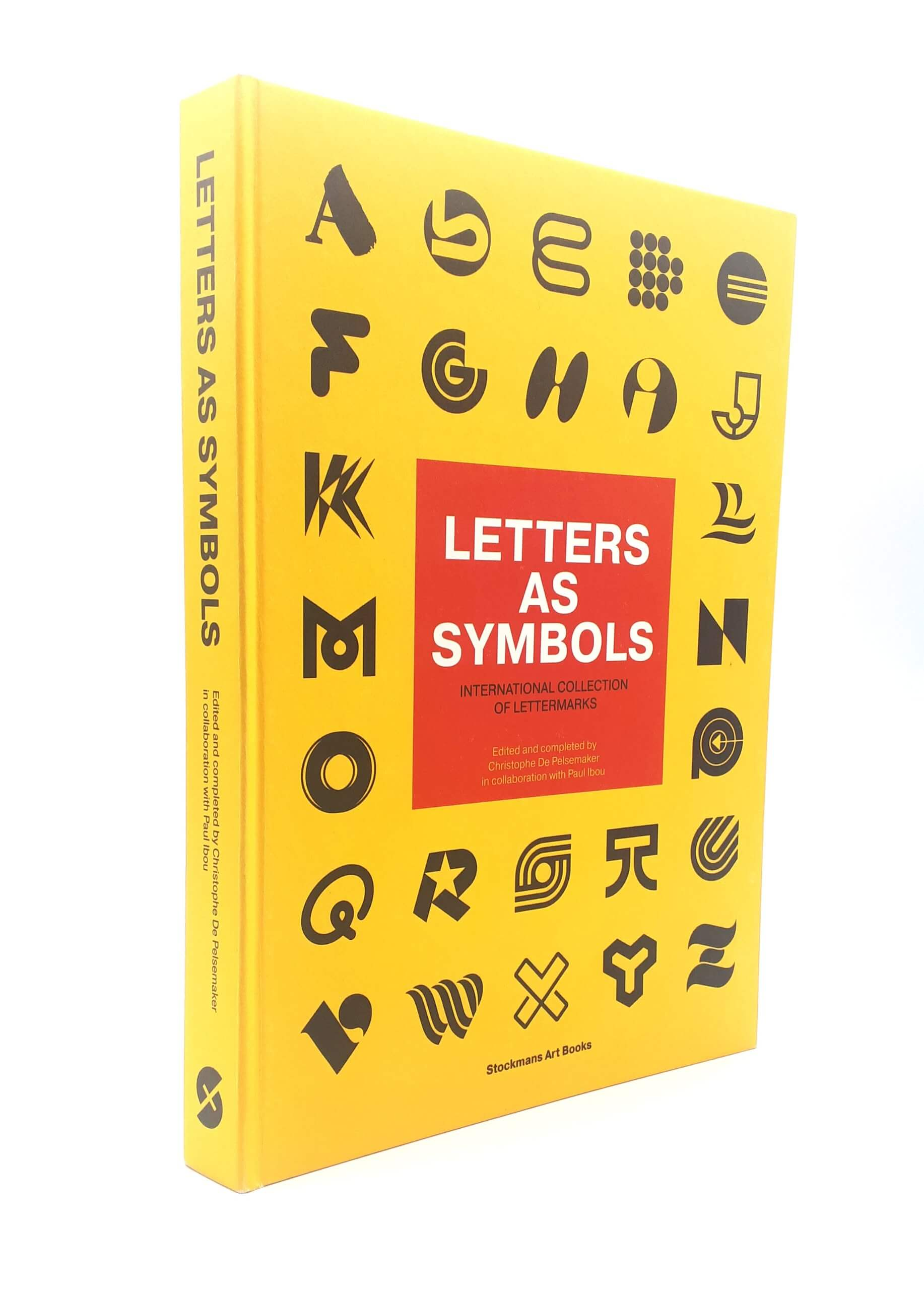 Letters As Symbols by Christophe De Pelsemaker and Paul Ibou - Book Review - Cover Design