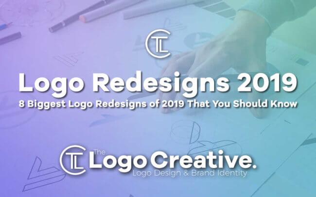 8 Biggest Logo Redesigns of 2019 That You Should Know - Logo Design - Logo Designer