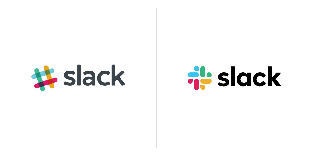 8 Biggest Logo Redesigns of 2019 That You Should Know - Slack Logo Design 2019