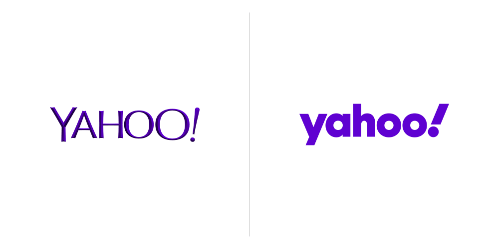 8 Biggest Logo Redesigns of 2019 That You Should Know - Yahoo Logo Design 2019