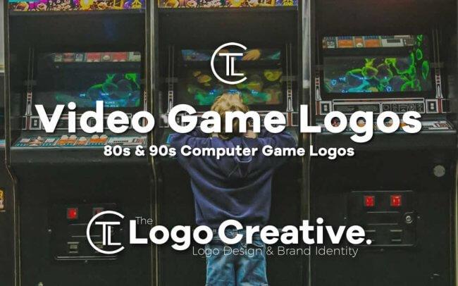 80s & 90s Computer Game Logos