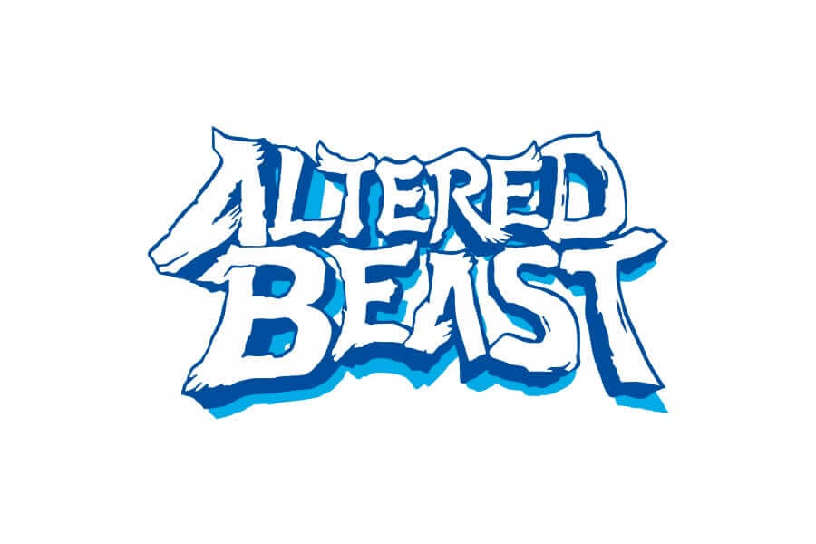 Altered Beast logo design - Inspirational Arcade Game Logos of the 90's-min