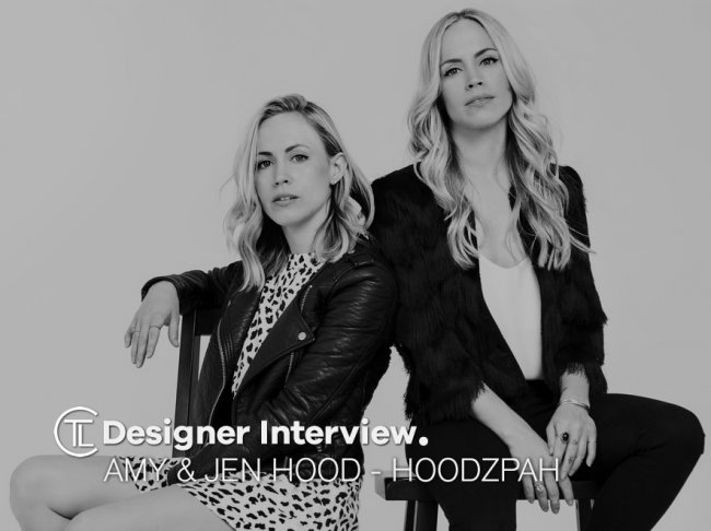 Designer Interview With Amy & Jennifer Hood - Hoodzpah