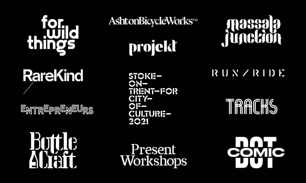 Andy Cooke - Typography Based Logos - Designer Interview