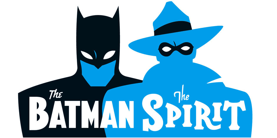 The Batman, The Spirit Logo Illustrations by Rian Hughes - The Logo Creative Designer Interview