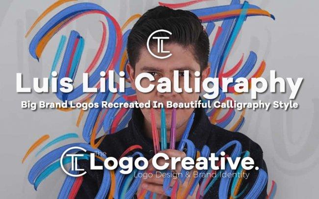 Big Brand Logos Recreated In Beautiful Calligraphy Style