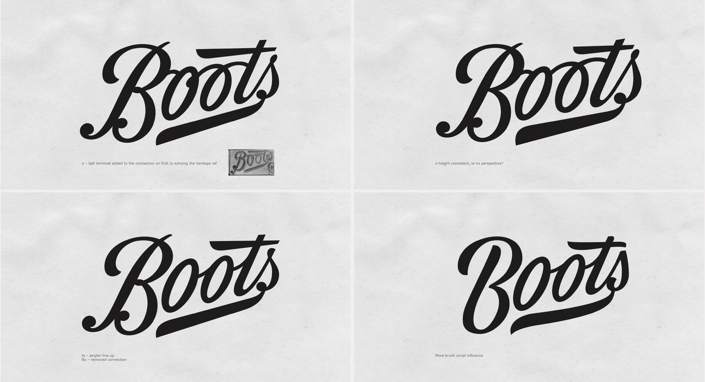 The Process of Boots Logo Redesign With Rob Clarke
