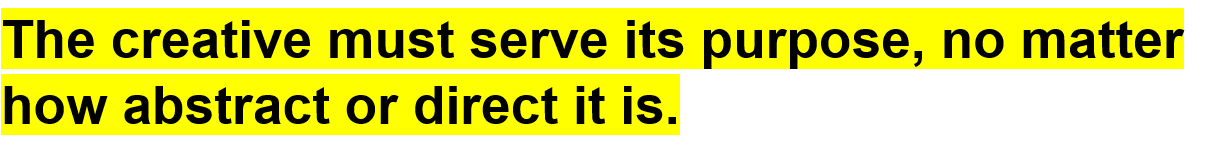 Brand Design and Development - In theory-The creative purpose-quote-min