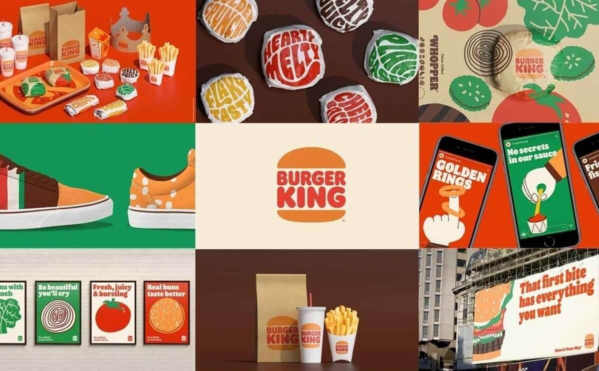 Burger King Rebrand - Logo Design & Packaging
