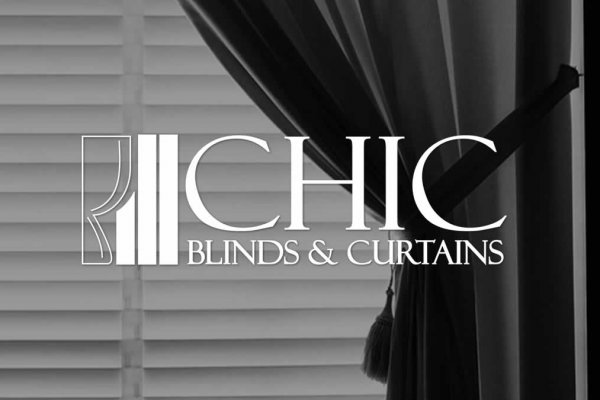 CHIC Blinds & Curtins Logo Design - The Logo Creative