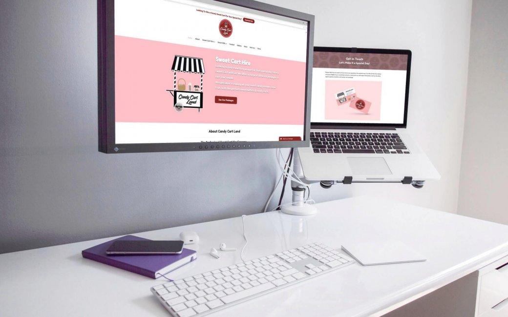 Candy Cart Land Web Design and Development