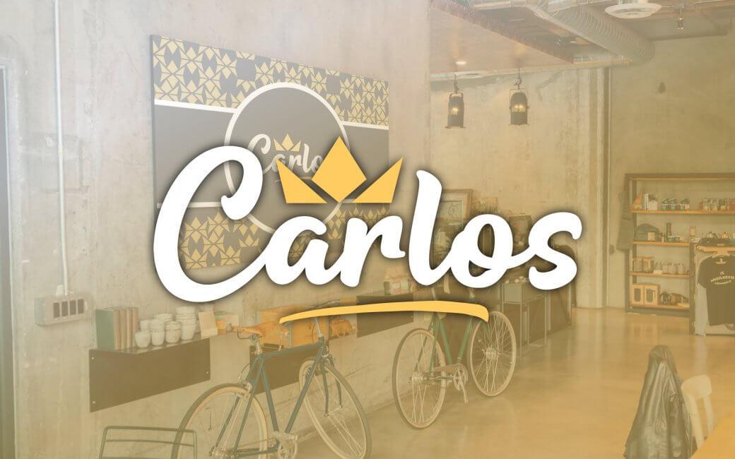 Carlos - Logo Design - The Logo Creative | International Brand Identity Design Studio