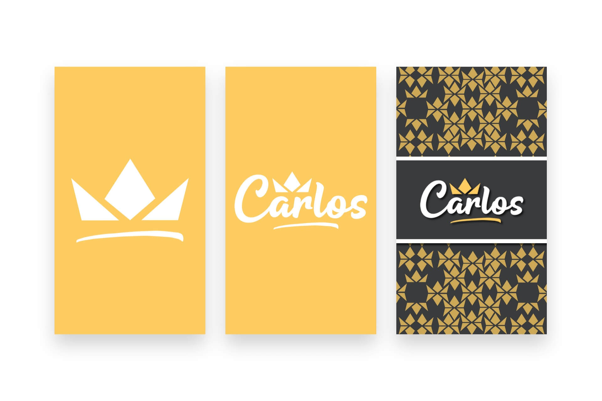 Carlos Logo Lockups | The Logo Creative - International Brand Identity Design Studio
