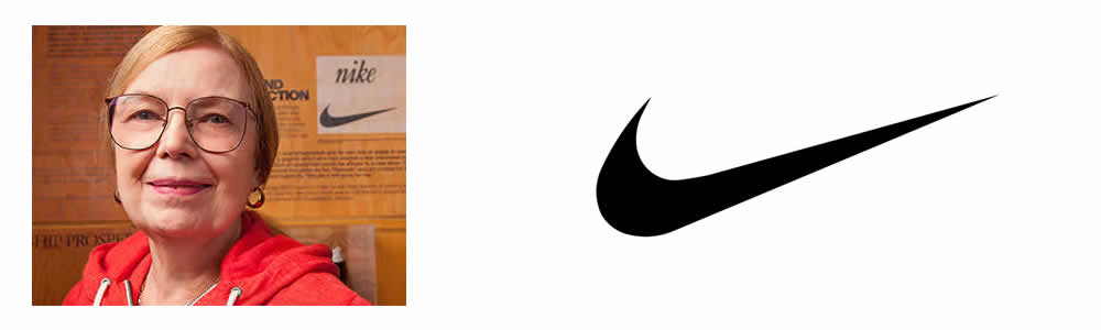 Carolyn Davidson - Nike Logo - Famous Logo Designers and Their Distinctive Style