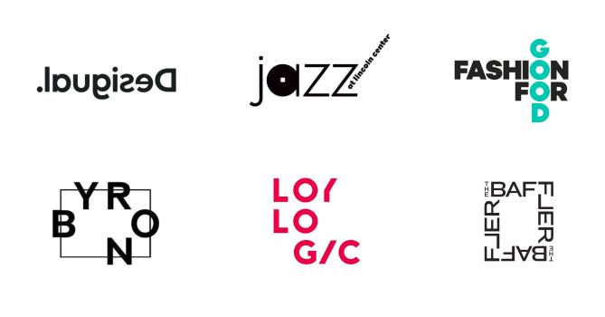 Chaotically Arranged Logos