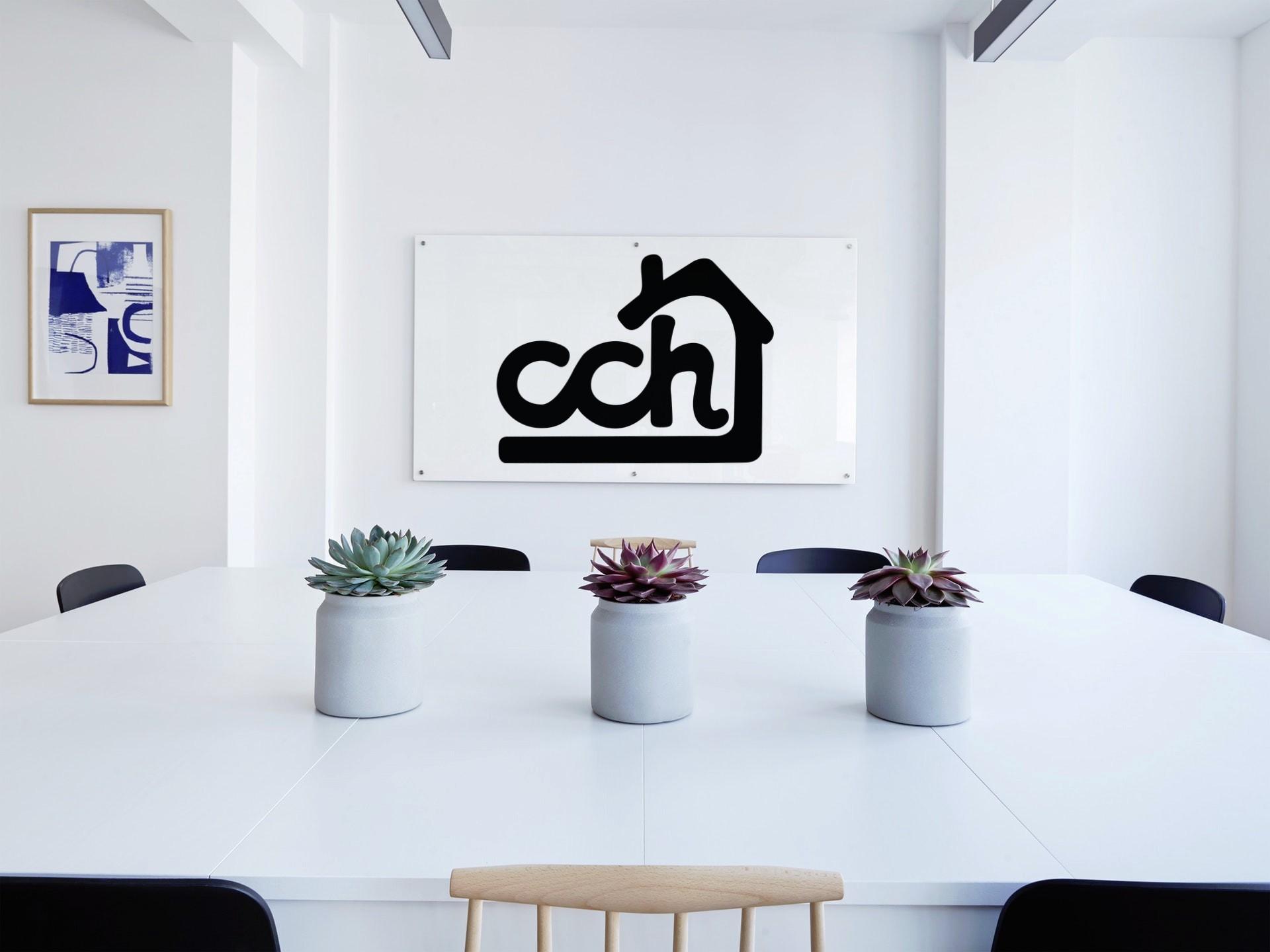 Chimney Cake House Logo Design
