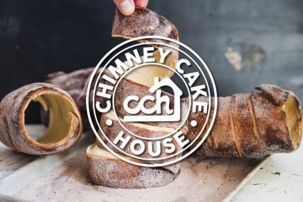 Chimney Cake House Logo Design