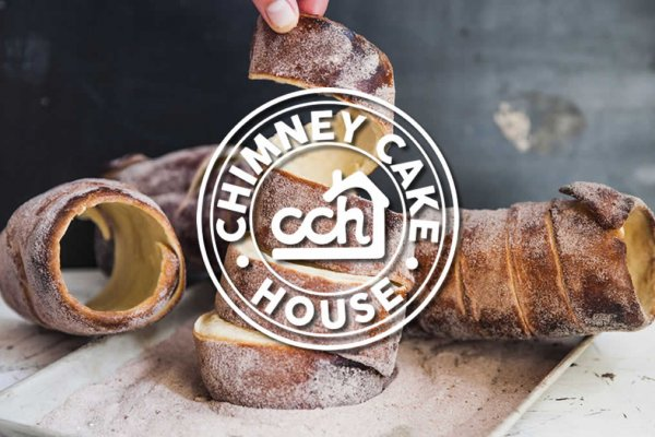 Chimney Cake House Logo Design - The Logo Creative