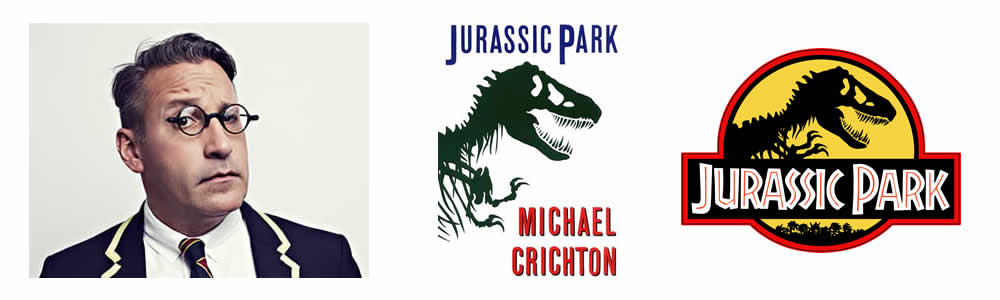 Chip Kidd - Jurassic Park - Famous Logo Designers and Their Distinctive Style