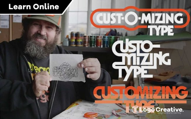 Customising Type with Draplin Creating Wordmarks That Work