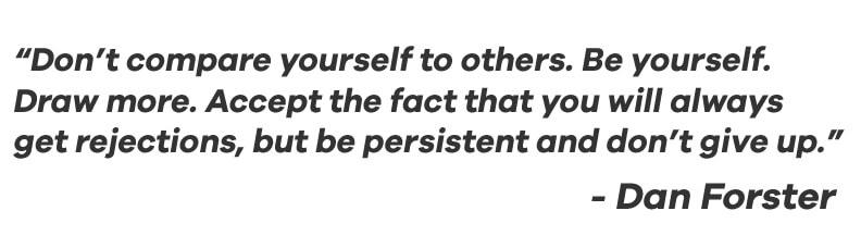 Dan Foster Designer Quote
