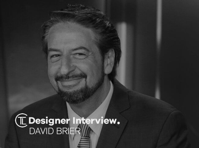 David Brier Designer Interview