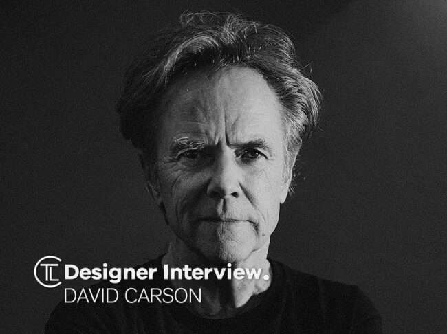 David Carson Designer Interview