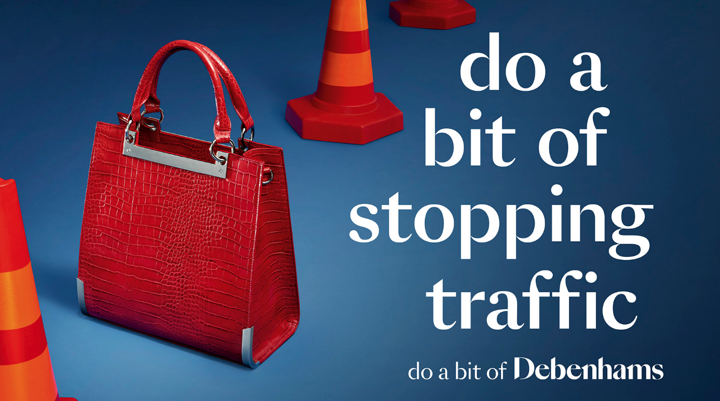 Debenhams Bag Advert