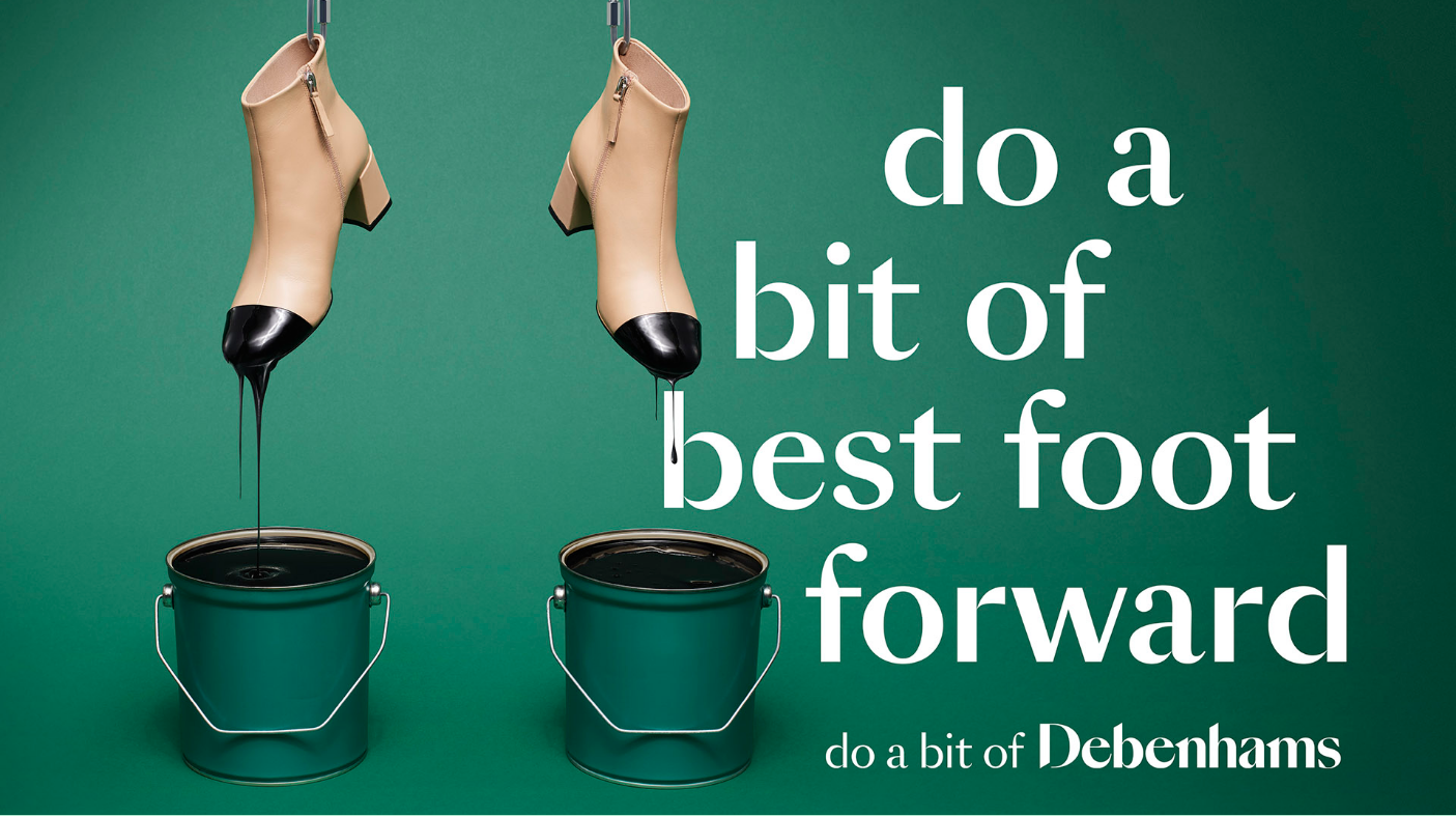 Debenhams Boot Advert