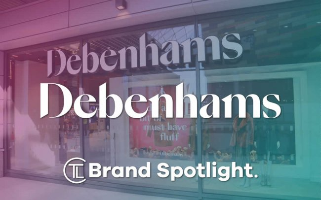 Debenhams Brand Spotlight - The Logo Creative