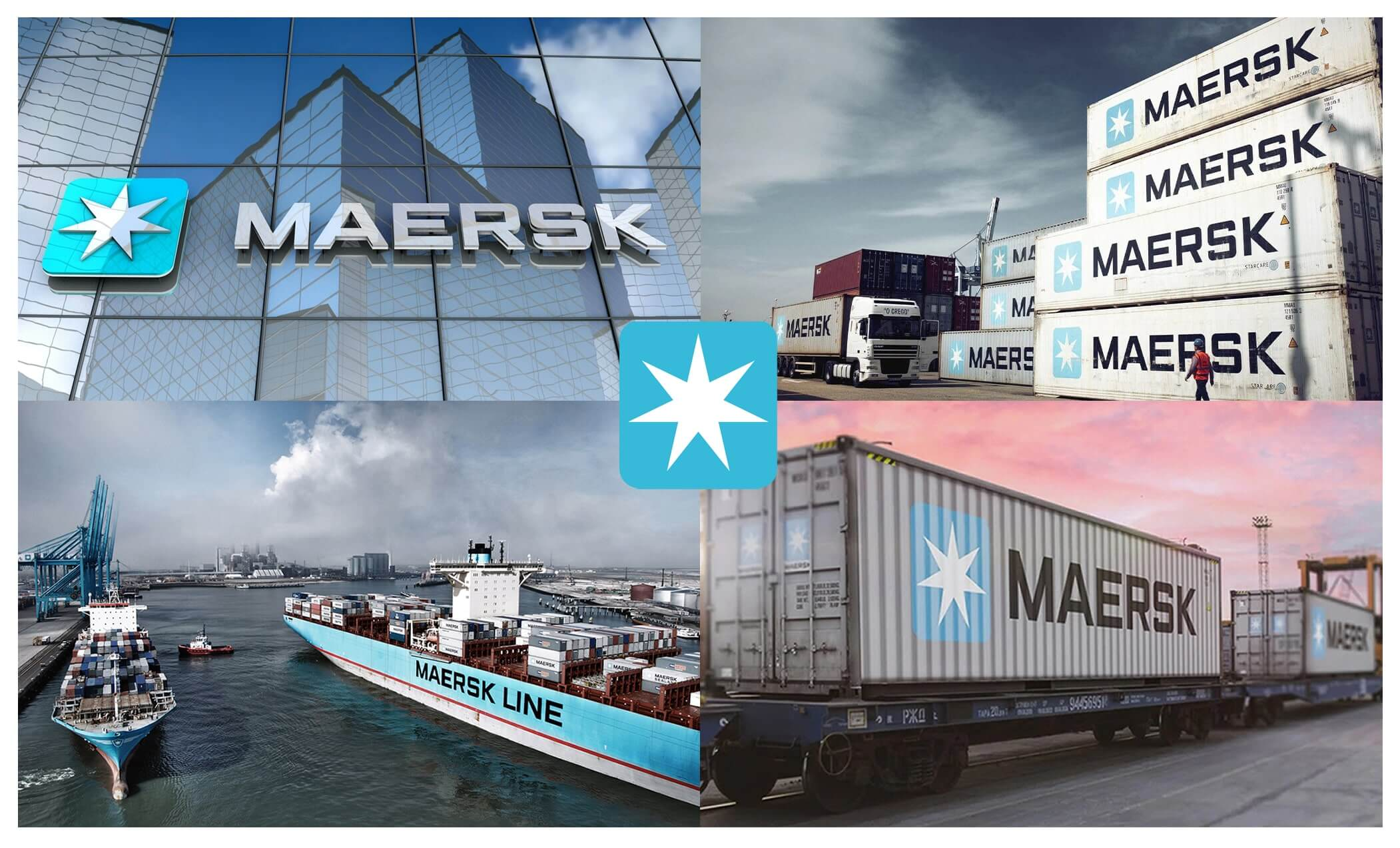 Designer Interview With Craig Ward - Maersk logo