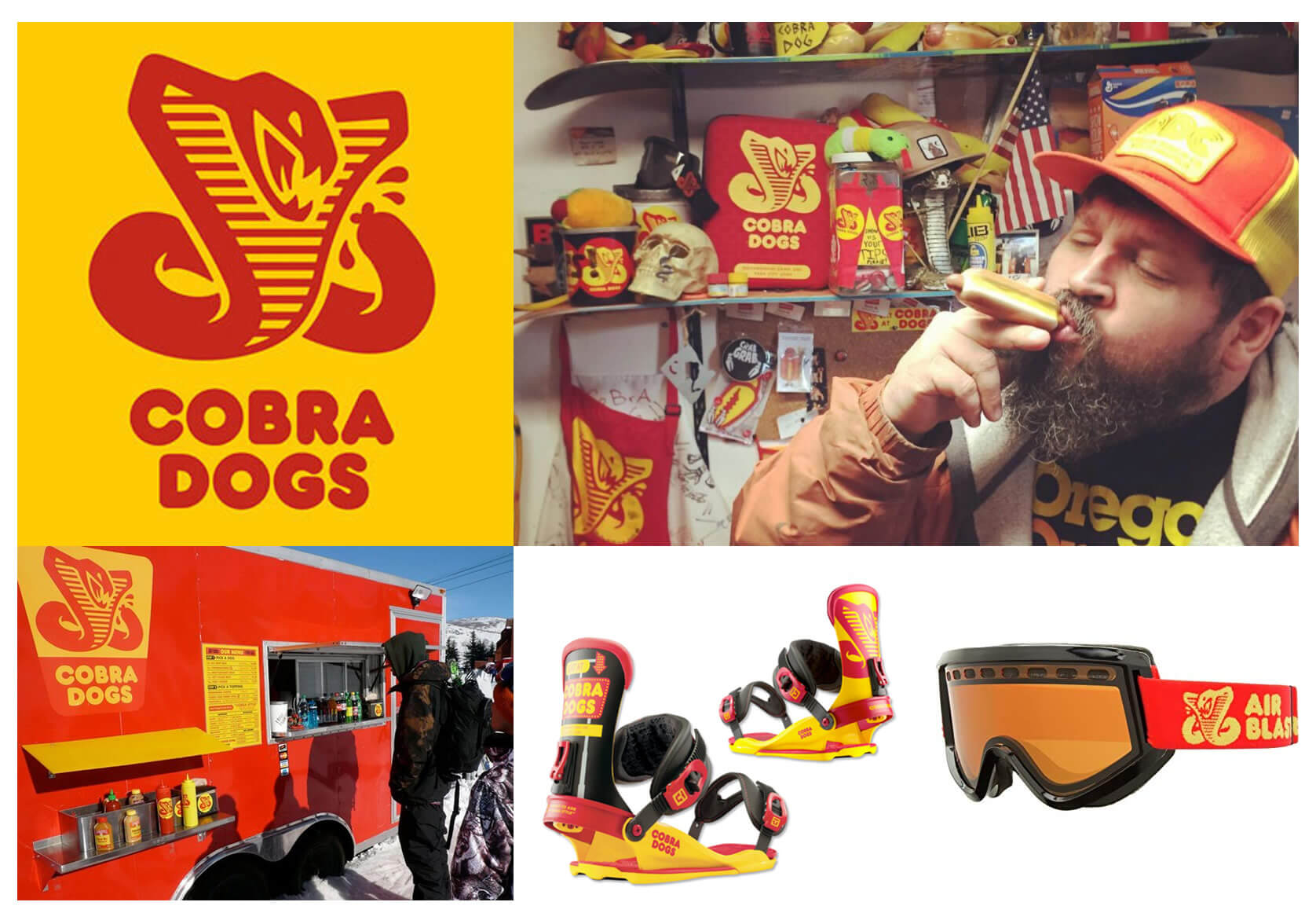 Designer Interview With Aaron Draplin - Cobra Dogs