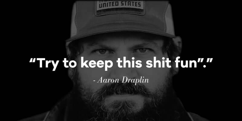 Designer Interview With Aaron Draplin_Fav Quote