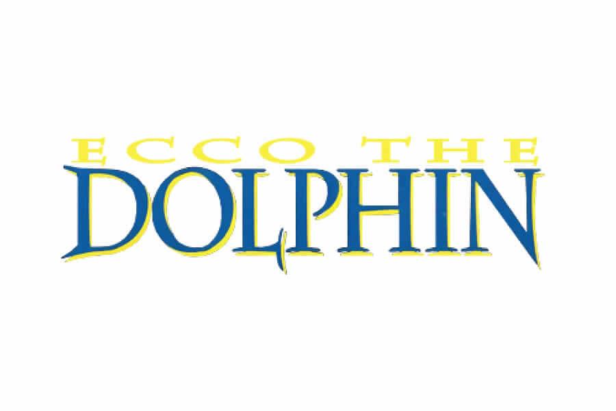 Ecco The Dolphin logo design - Inspirational Arcade Game Logos of the 90's