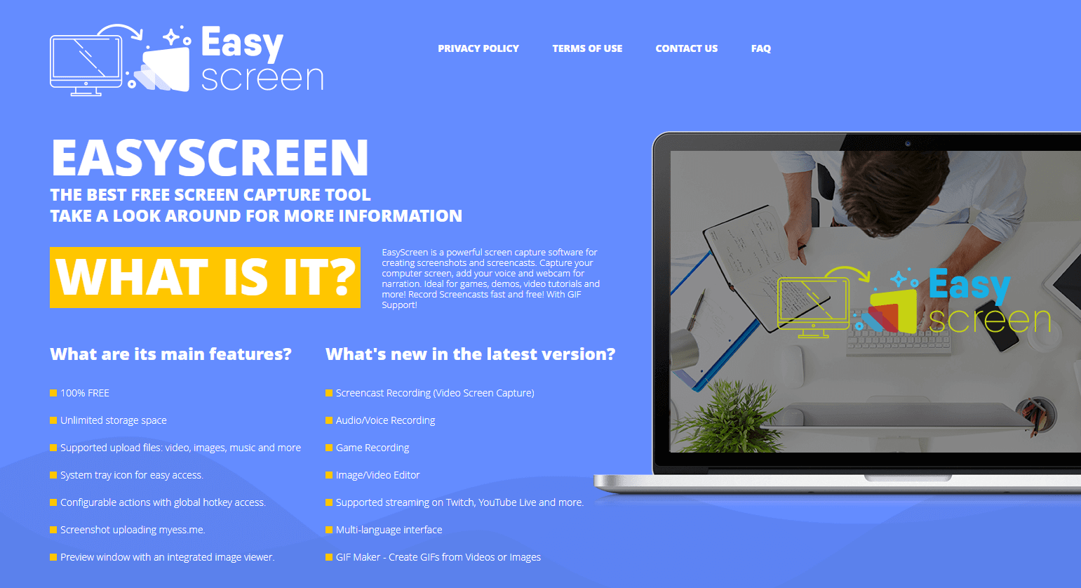 Esay Screen - Free Desktop Screen Recorder - Screencast Software-min