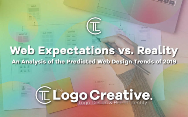 Expectations vs Reality - An Analysis of the Predicted Web Design Trends of 2019