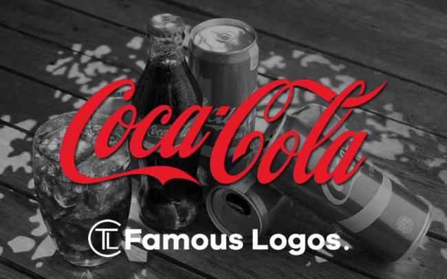 Famous Logos - Coca-Cola Logo Evolution- Famous Logo History - The Logo Creative