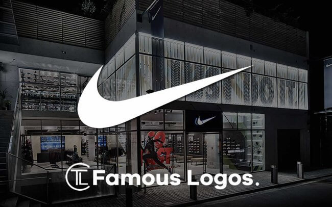 c11092d68 Nike Logo Evolution - The  35 Swoosh - Famous Logos