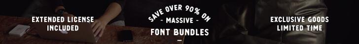 Font Bundles - Premium Commercial Fonts - PixelSurplus_ (2)