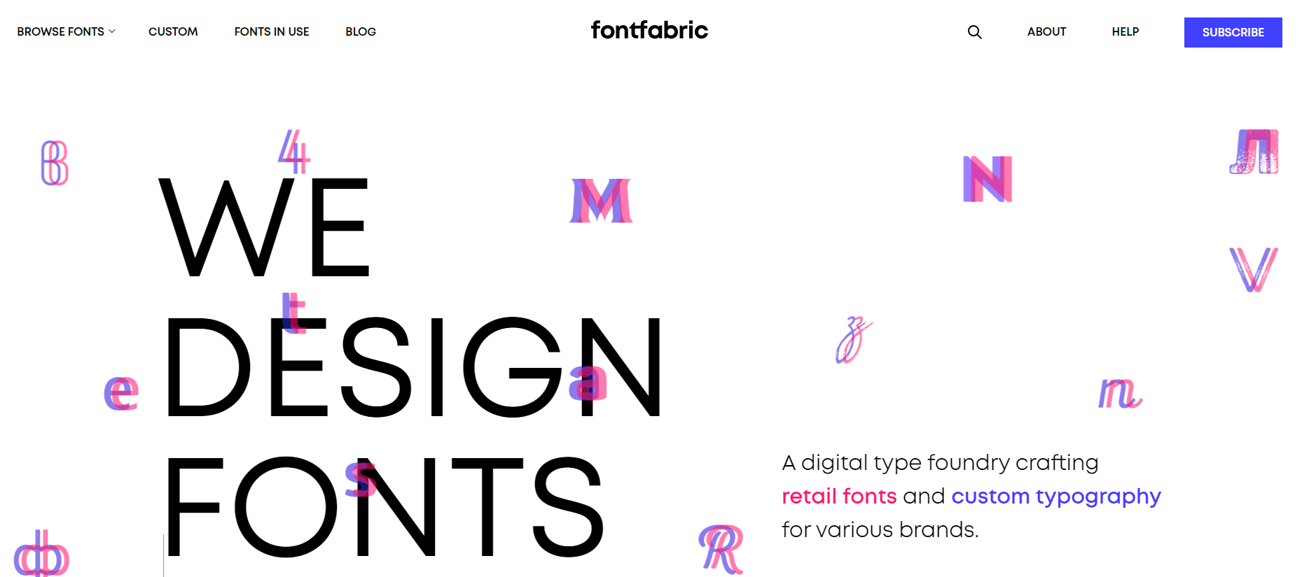 Font Fabric - Free Fonts-min