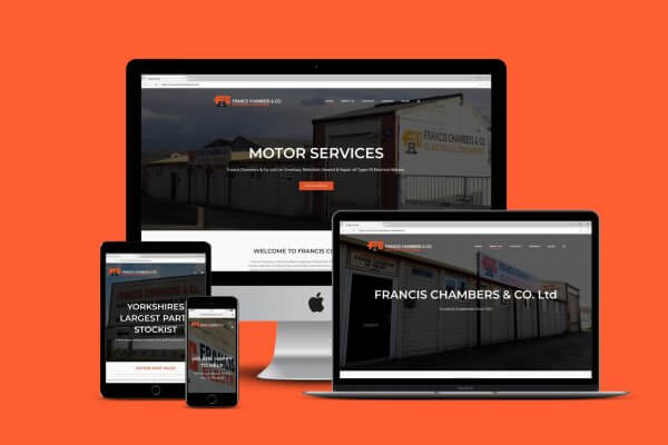 Francis Chambers Web design and Development