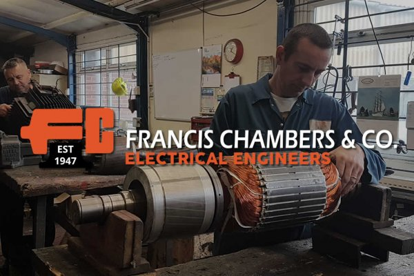 Francis Chambers Logo Design - The Logo Creative