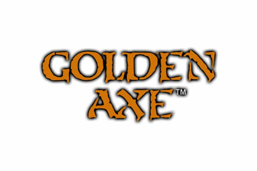 Golden Axe logo design - Inspirational Arcade Game Logos of the 90's-min