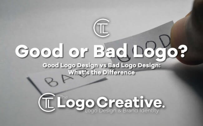 Good Logo Design vs Bad Logo Design: What's the Difference