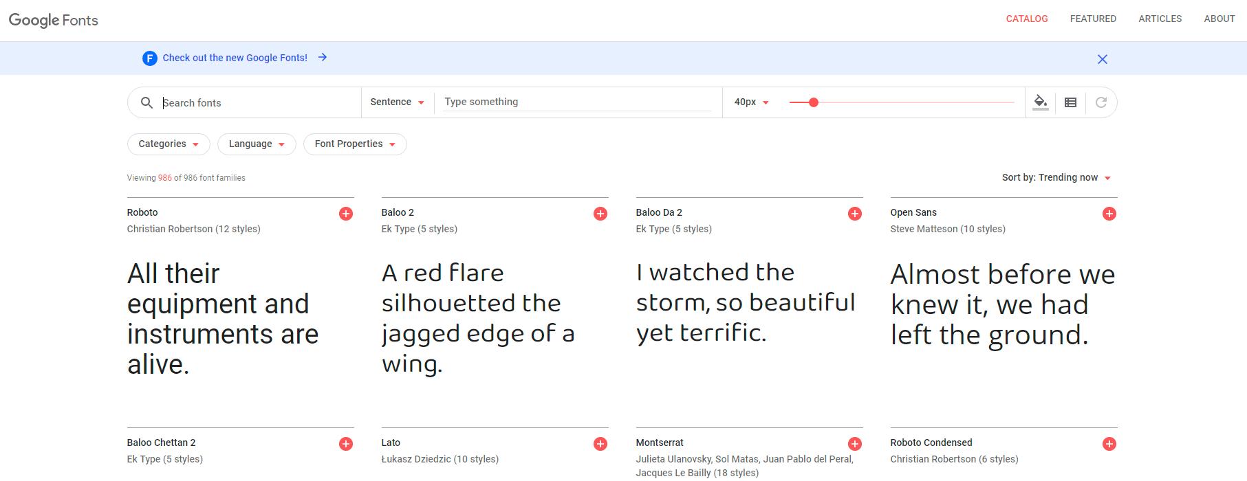 Google Fonts - Free Fonts-min