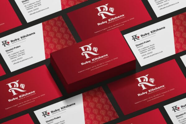 Logo & Visual Identity Design for Ruby Kitchens Ltd