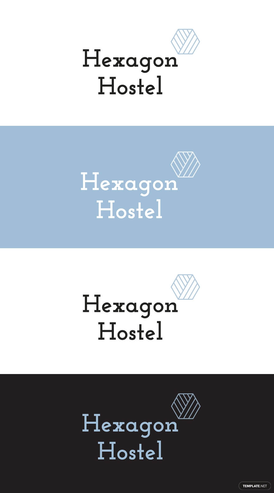 Hostel Logo Template