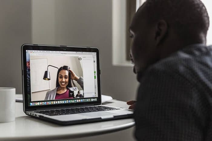 Ideas That Will Improve Efficiency While Working From Home - Video Calls With colleague and friends