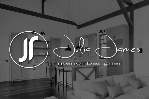Julia James Logo Design - The Logo Creative