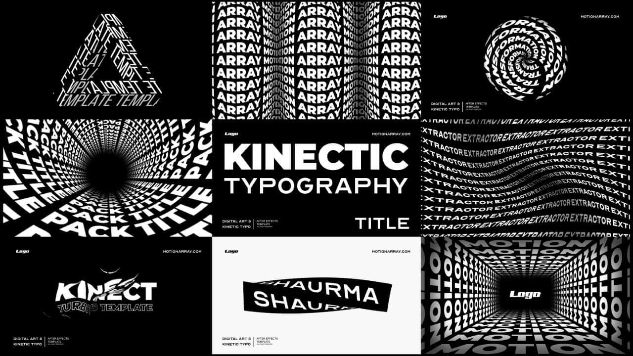 Kinetic typography - Typography Design Trends 2021 - The Logo Creative
